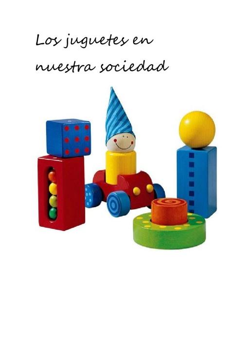 Los juguetes en nuestra sociedad