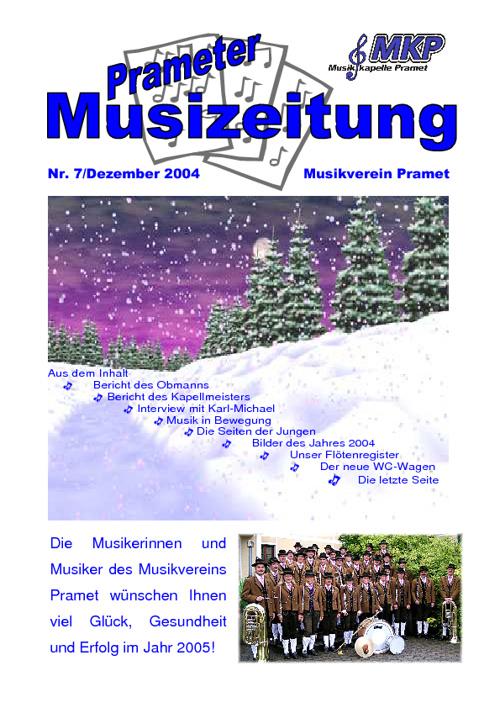 Musizeitung 2004