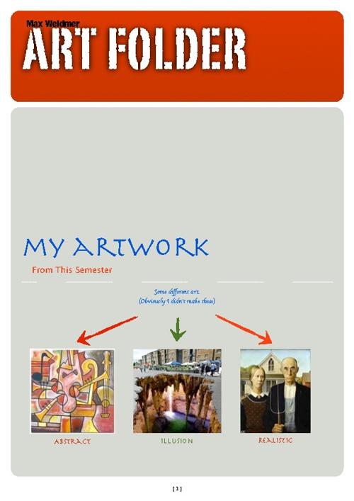 Art Folder