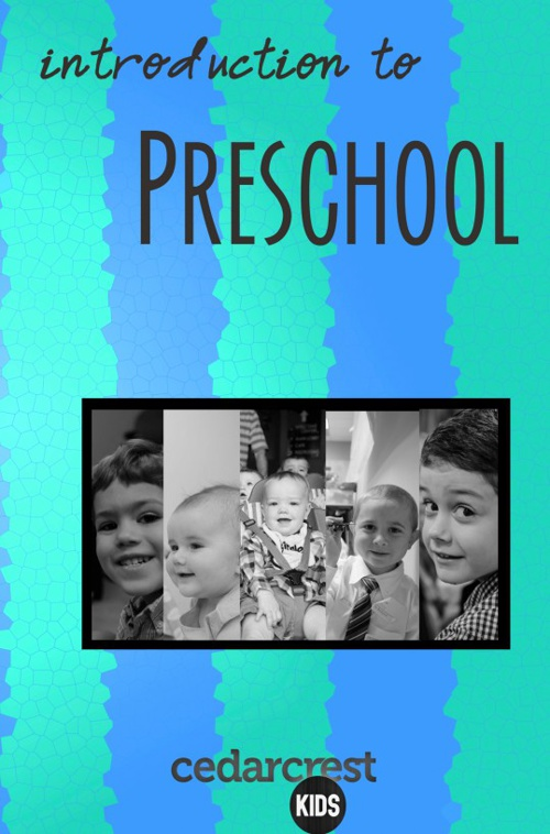 Introduction to Preschool