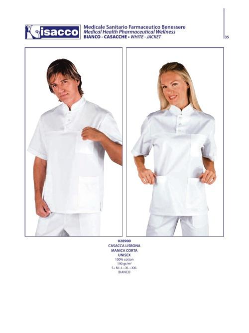 Catalogo Abbigliamento Sanitario Casacche 3