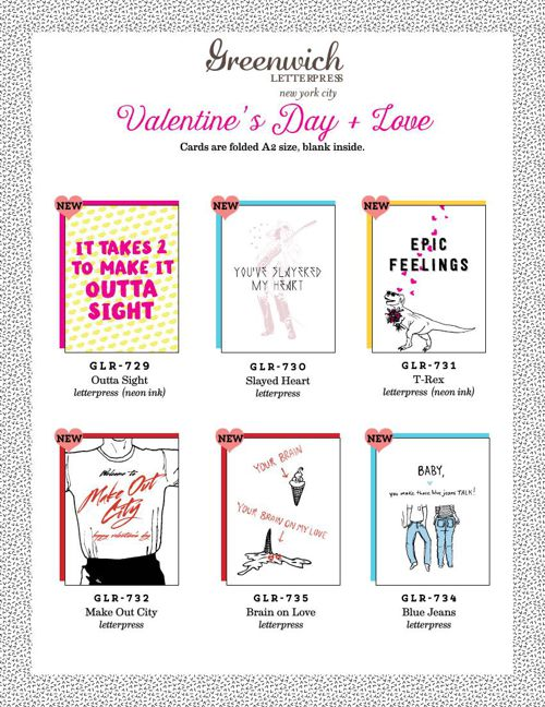 GLP Valentine's Day and Love Line Sheet