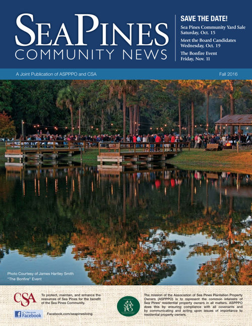 Sea Pines Community Newsletter Fall 2016