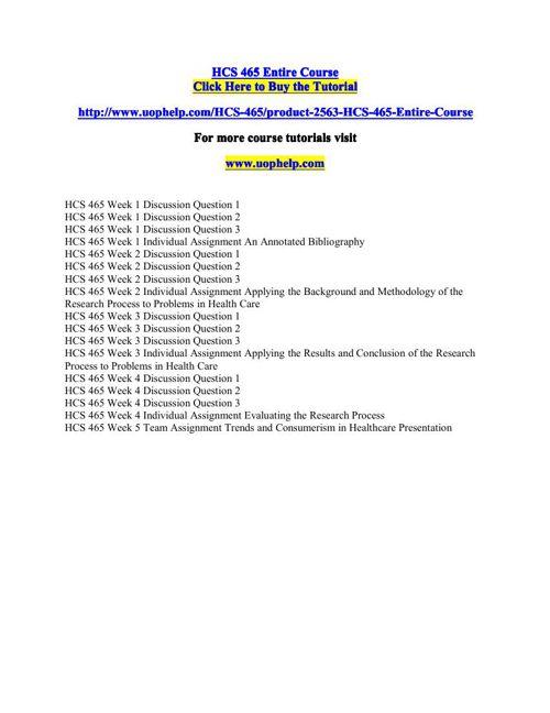 HCS 465 Squared Instruction/uophelp