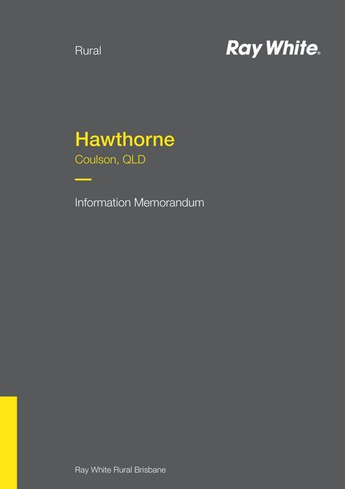 Hawthorne Information Memorandum