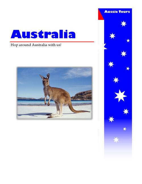 Australia Flyer