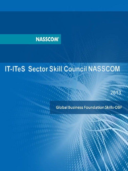 Global Business Foundation Skills -OBF