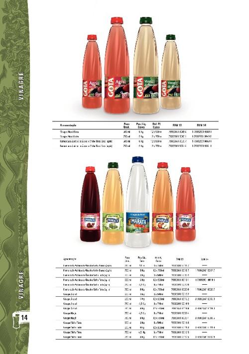 Catálogo de Produtos - Maratá 2011