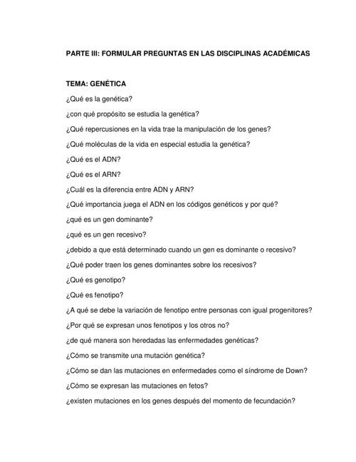 Diseño de reguntas
