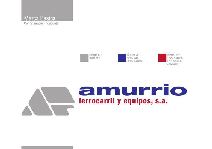 Manual de Imagen Corporativa Amurrio Ferroarril y Equipos S.A.