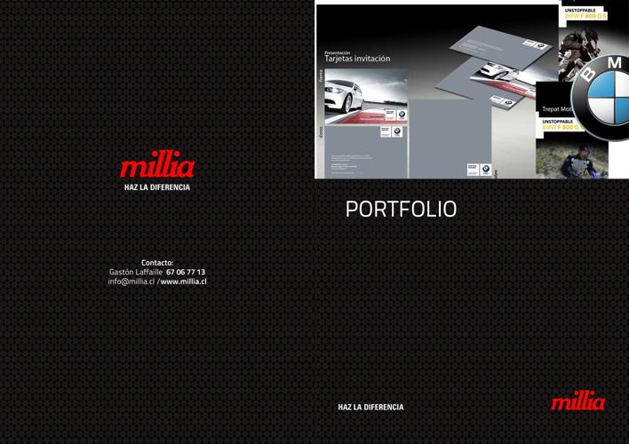 Portfolio Millia estudio