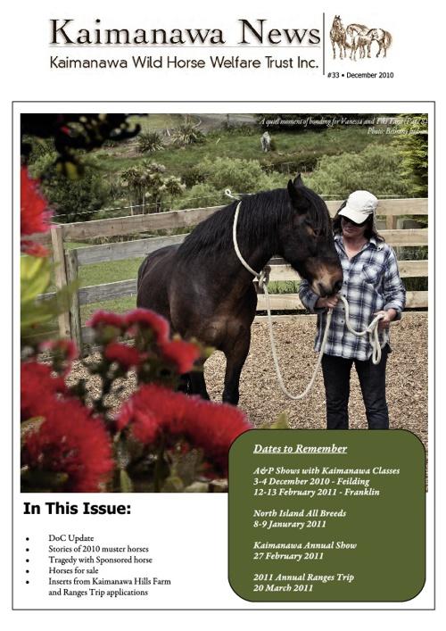 33 KWHWT Newsletter November 2010
