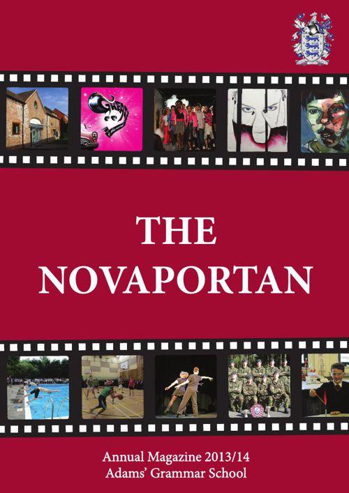 Adams' Grammar Novaportan Magazine