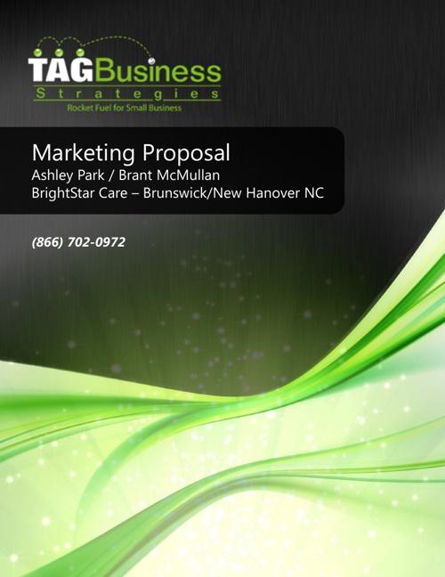 Marketing Proposal Brightstar Care Brunswich/New Hanover NC