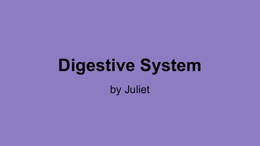 Juliet  body systems flip book