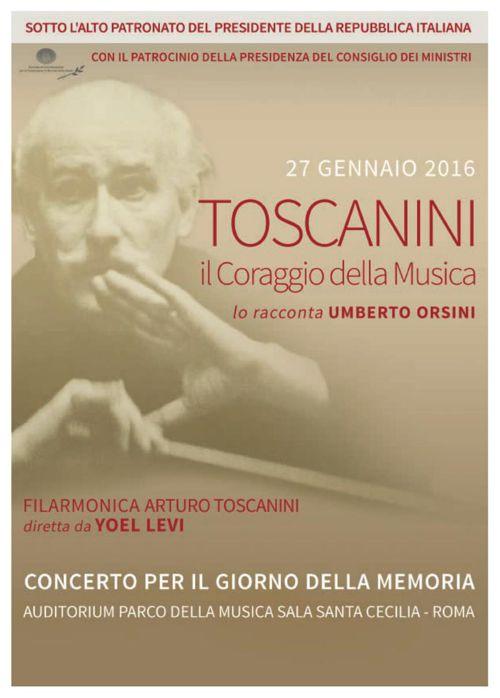 Toscanini, Il Coraggio della Musica - programma di sala