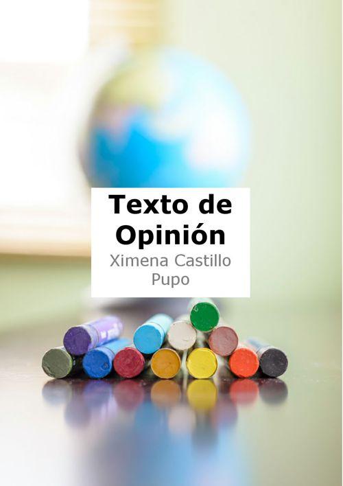 TEXTO DE OPINION XIMENA PUPO 2A