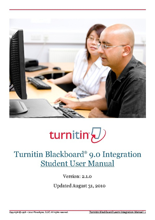 Turnitin Student Manual