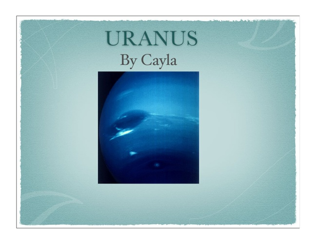 Uranus by Cayla