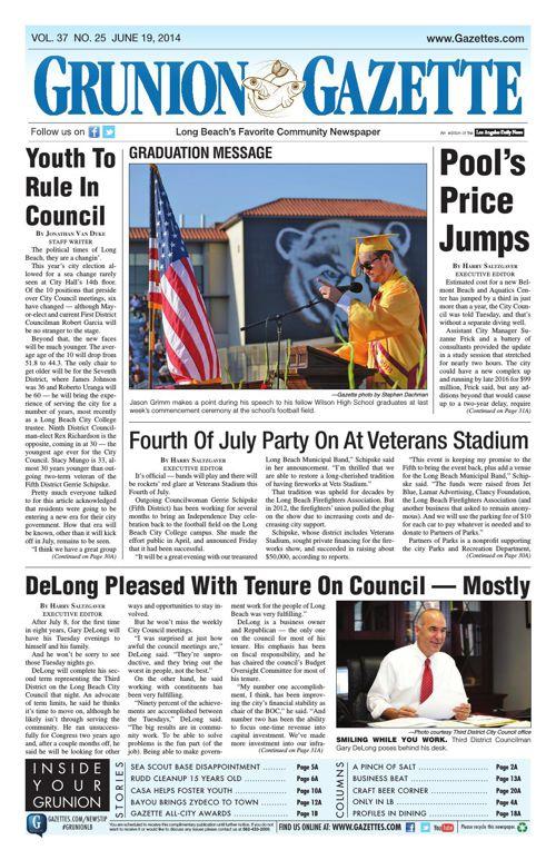 Grunion Gazette | June 19, 2014