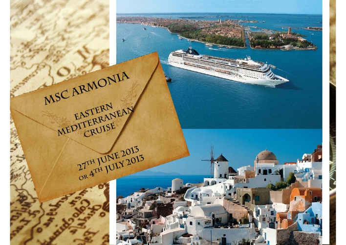 Metropolitan Med Cruise - East Med Cruise - MSC Armonia