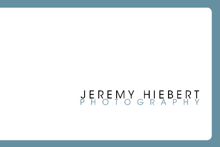 Jeremy Hiebert Photography - pricelist