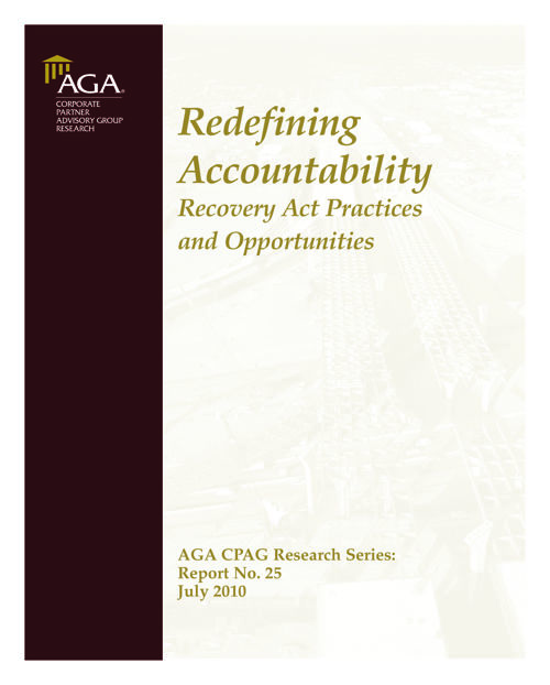 Redefining Accountability July 2010