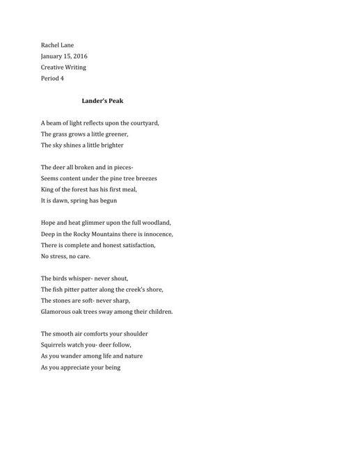 Exphrasis Poem
