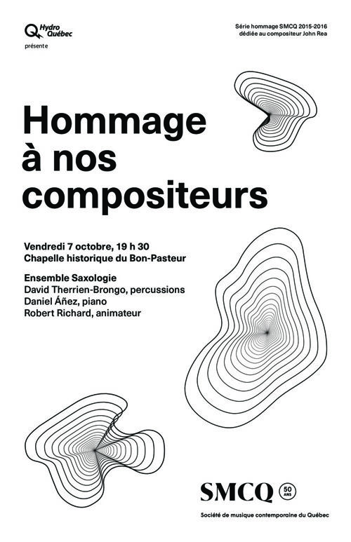 "SMCQ / Saxologie - ""Hommage"" (Programme 07/10/2016)"