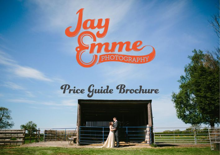 Jay Emme Photography - Wedding Price Guide Brochure, 2015/16