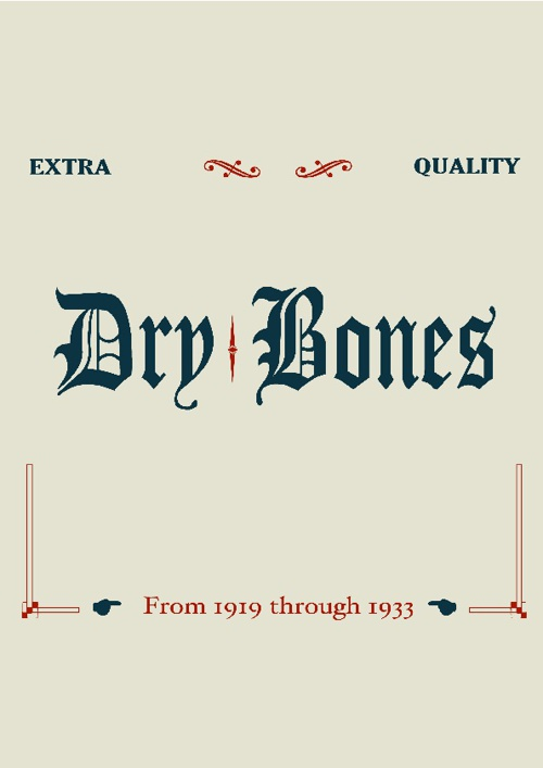Drybones 2012 Midwinter Catalog