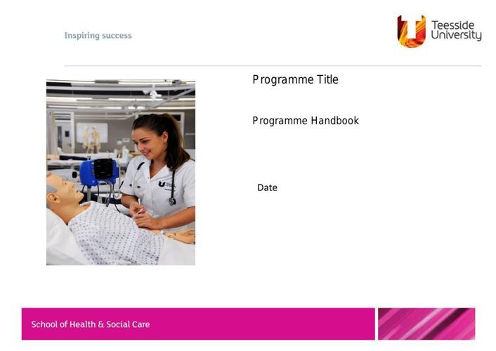SOHSC_Handbook Template 2013-14