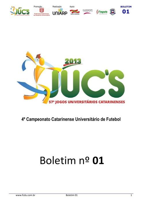 57º Jogos Universitários Catarinenses
