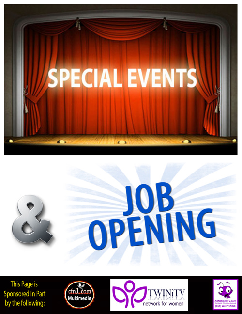 Special Events & Job Openings