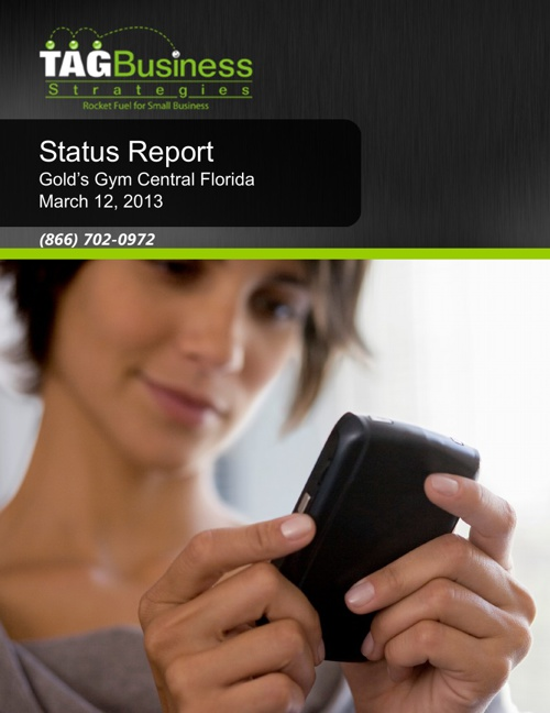 Gold's Gym Central Florida Status Report 1_20130312