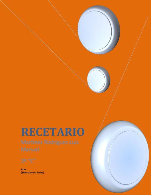 Martinez Rodriguez RECETARIO ABRIL