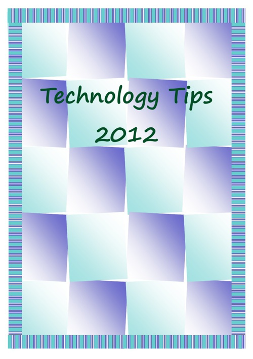 Staff Tech Flyers 2012