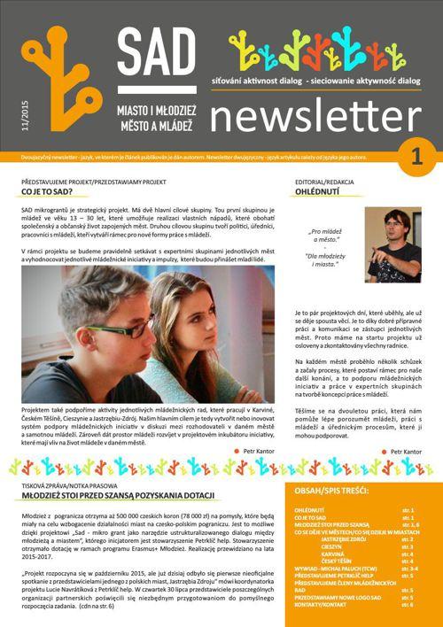 Newsletter SAD (11/2015)