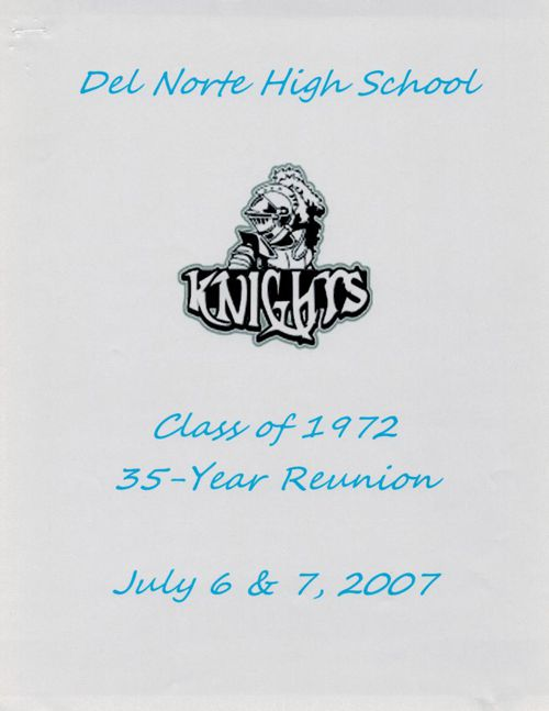 35th Reunion Booklet
