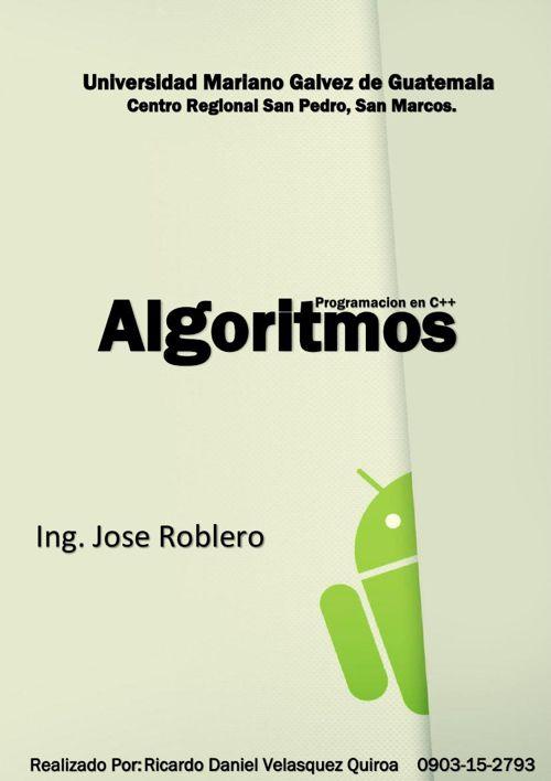 Algoritmos UMG