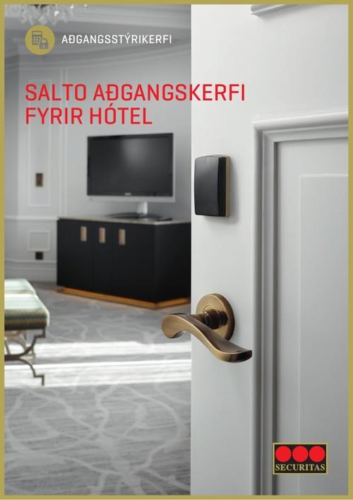 Salto adgangskerfi fyrir hotel_4bls