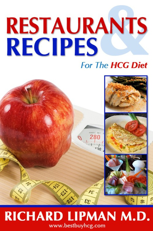 Restaurants and Recipes in New 800 Calorie a Day HCG Diet