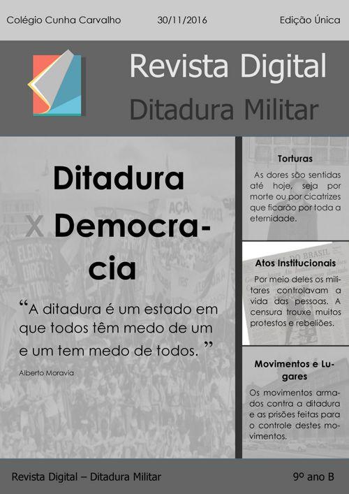 Revista - Ditadura Militar