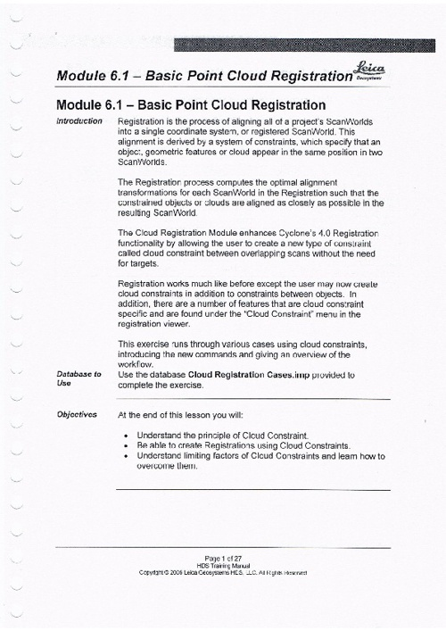 Module 6.1 - Basic Point Cloud Registration