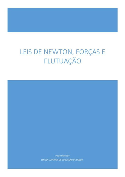 Texto de apoio Forças e leis de Newton