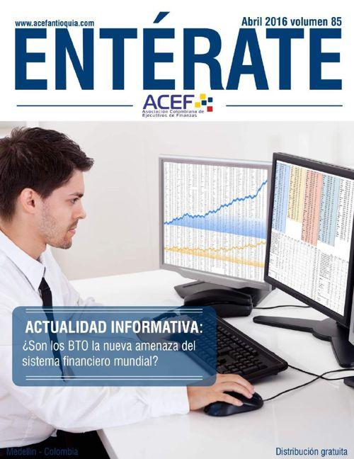 ACEF ENTÉRATE ABRIL 2016