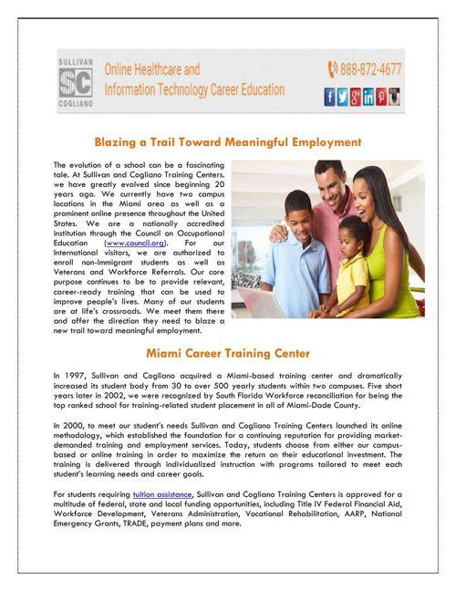 Technical Schools Miami