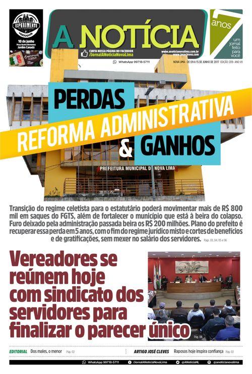 Jornal A Notícia - Edição 289