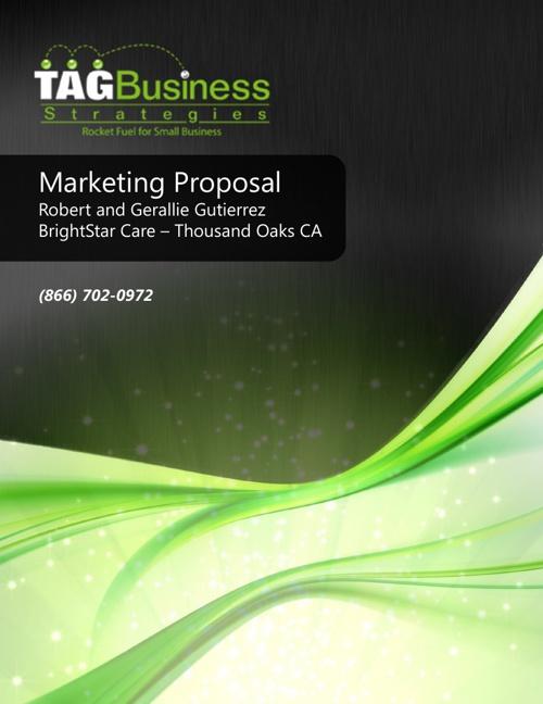 Marketing Proposal Brightstar Care Thousand Oaks CA