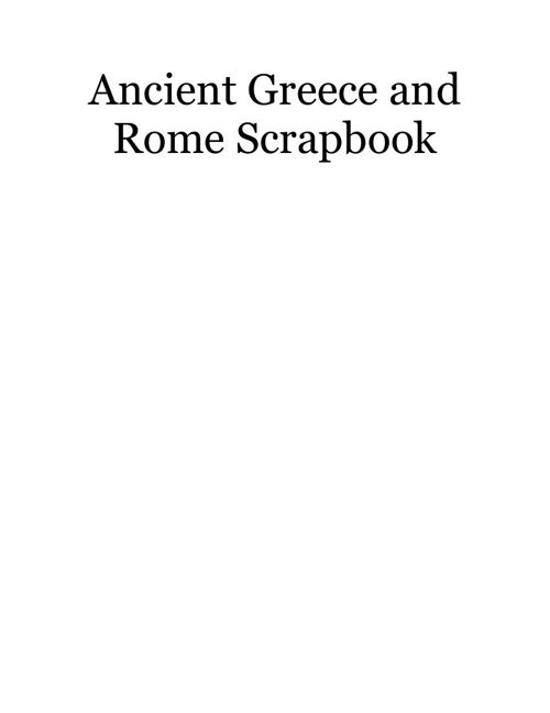 Ancient Rome and Greece
